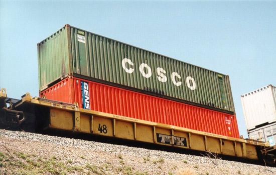 40-foot Dry Van Container Photo Gallery